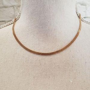 "Vintage 80-90's 14K gold chain necklace. 17"""